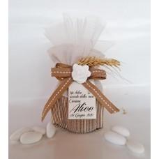 SC 20 Cresima sacchetto con vasetto e confetti