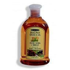 Bagno doccia Aloe Vera e Miele - Mora e muschio - 300 ml Fruttato.