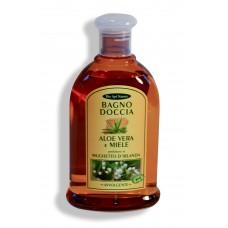 Bagno doccia Aloe Vera e Miele - Mughetto d'Irlanda - 300 ml Avvolgente.