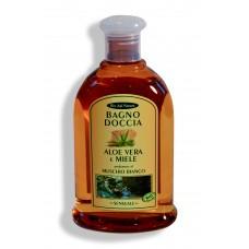 Bagno doccia Aloe Vera e Miele - Muschio Bianco - 300 ml Sensuale.