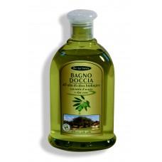Bagno doccia all'olio di oliva biologico con miele d'acacia e aloe vera - 300 ml