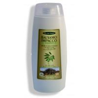 Balsamo impacco rigenerante all'olio di oliva biologico con aloe vera e miele d'acacia