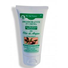 Deodorante in crema al Propoli e olio di Argan - 40 ml Effetto prolungato.