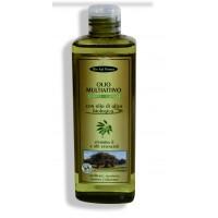 Olio multiattivo corpo - capelli con olio di oliva biologico, vitamina E, oli essenziali  –  250 ml