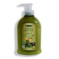 Crema Sapone: limone con olio d'oliva, miele e aloe biologici