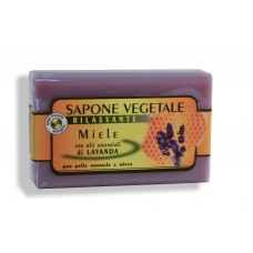 Sapone vegetale: sapone Miele e Lavanda