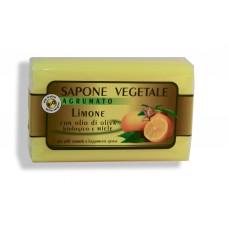Sapone vegetale: Limone con olio di oliva biologico e miele d'acacia