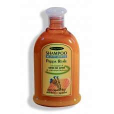 Shampoo multivitaminico Pappa Reale e Semi di Lino