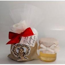 SC 21 Cresima sacchetto con vasetto e confetti