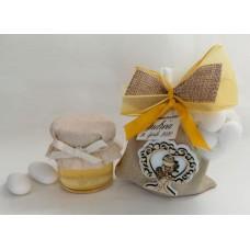 PC 037 Prima comunione - sacchetto con vasetto e confetti