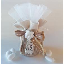 PC 036 Prima comunione - sacchetto con vasetto e confetti