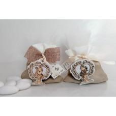 sacchetto/ciuffetto con calice
